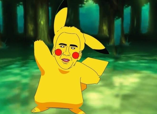 pokemon Николас Кейдж