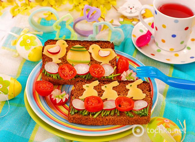 Бутерброды, рецепты