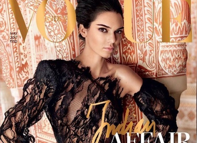 Кендалл Дженнер для Vogue India