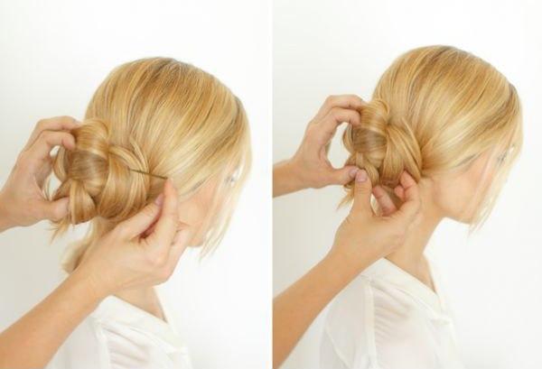 підібрані зачіски