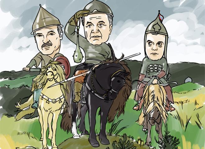 Карикатура Президенты