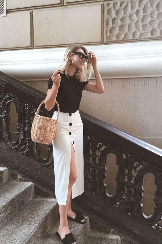 Модные летние наряды в офисном стиле