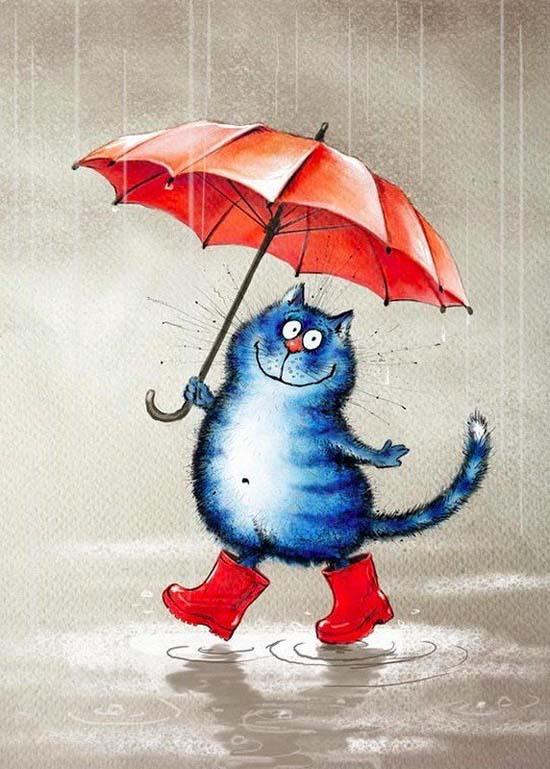 """Няшная подборка """"Жизнь голубых котов"""""""
