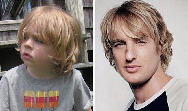 Малыши, которые похожи на знаменитостей