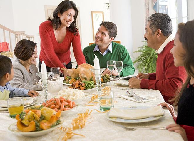Страви на Різдво, Різдвяний стіл