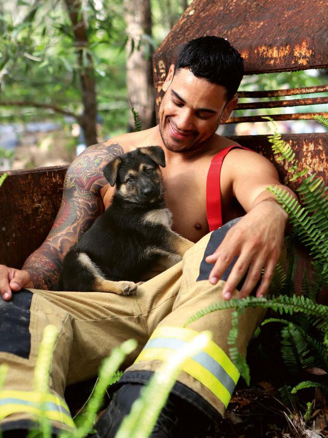 Календар, який ми заслужили: австралійські пожежники в фотосесії з тваринами
