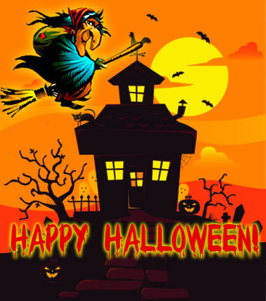 Баба Яга и Хэллоуин