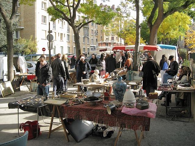Шопінг в Парижі: Блошиний ринок Porte de Vanves