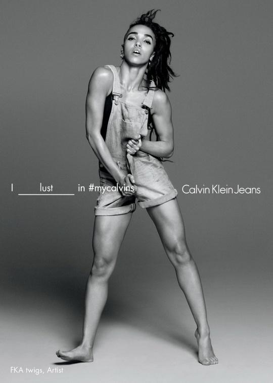 FKA Twigs для Calvin Klein