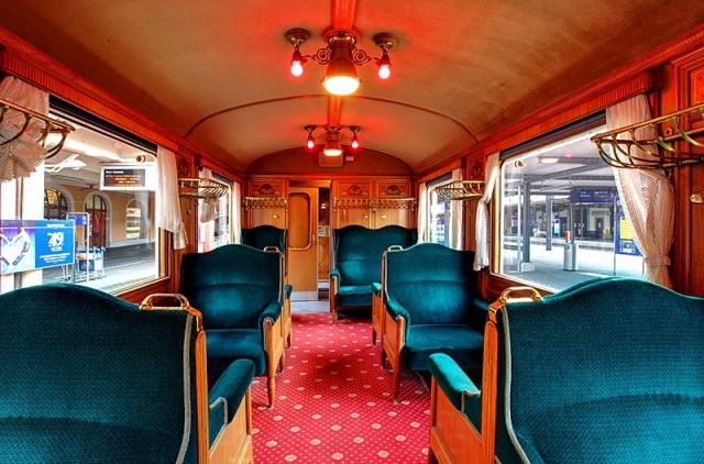 Путешествие по Европе на поезде