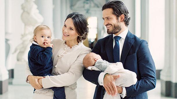 сім'я принца Карла Філіпа