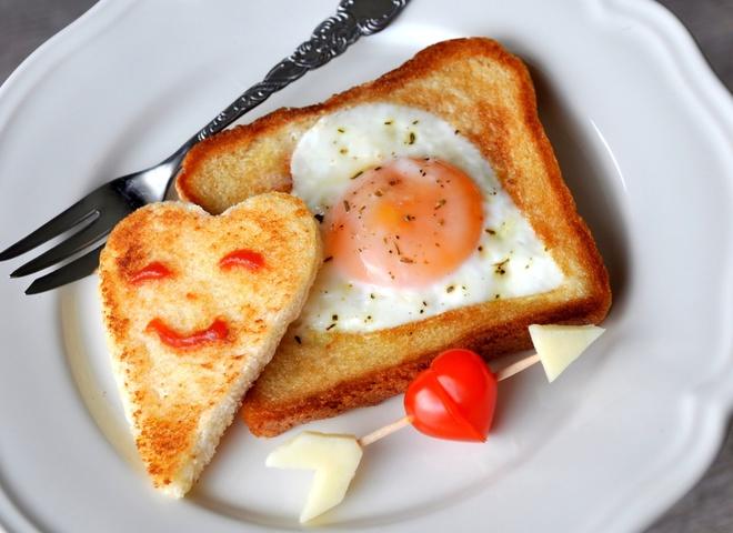 рецепт романтичного сніданку