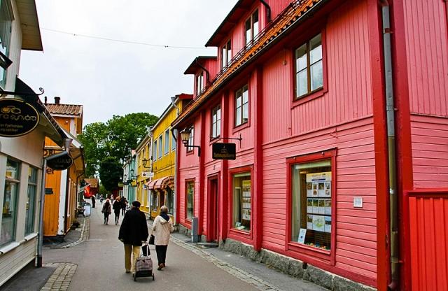 Різнокольорові міста світу: Сігтуна, Швеція
