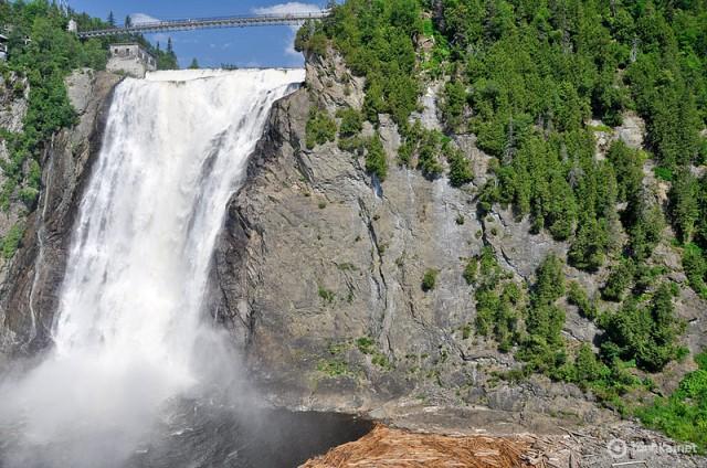 Найбільш вражаючі водоспади світу: Монморансі, Канада