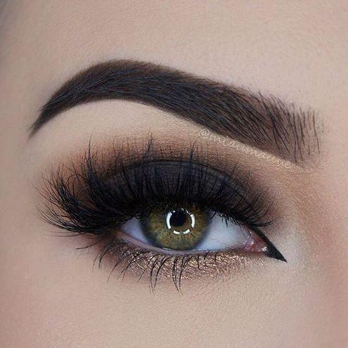 Макияж глаз: темно-шоколадный