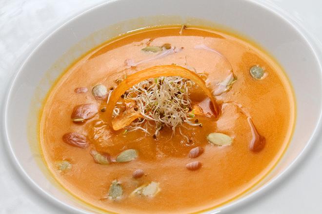 Кулинарный мастер-класс с шеф-поваром: приготовление тыквенного супа