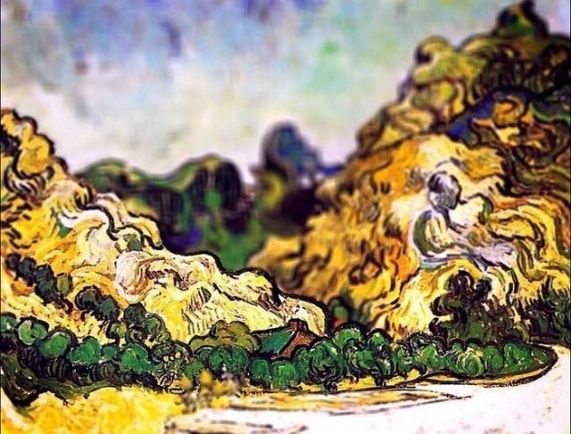 Обалденные полотна Ван Гога, снятые на фотокамеру с эффектом tilt-shift
