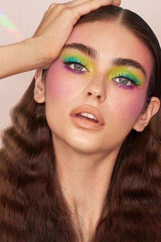 Современный ретро-макияж