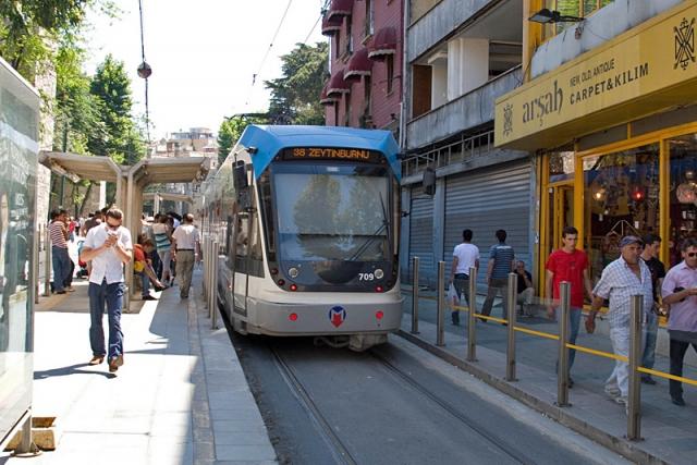 Відпочинок в Стамбулі. Трамвай