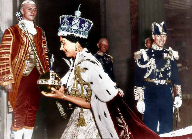 Коронации королевы Елизаветы II