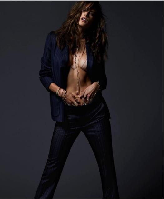 Алессандра Амбросіо в рекламній кампанії Jacquie Aiche