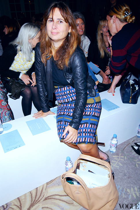 Александра Шульман іде з Vogue UK