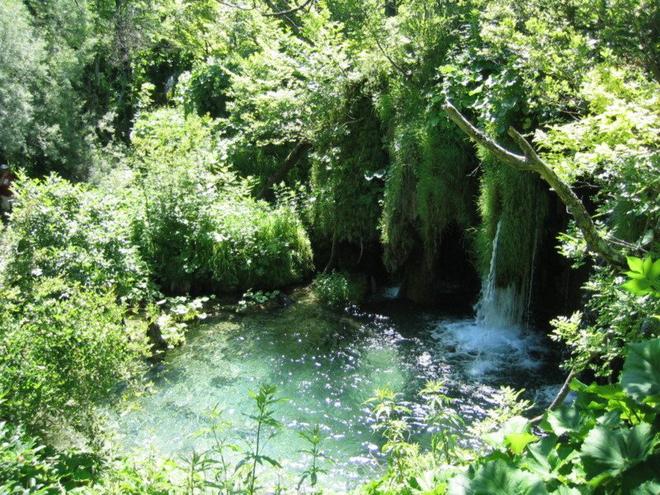 Плітвіцькі озера, Хорватія.