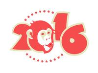 Обои на Новый год обезьяны 2016