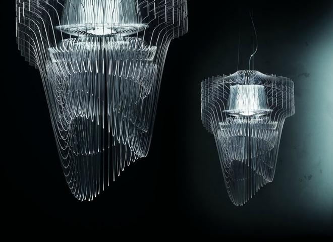 светильник-фонтан