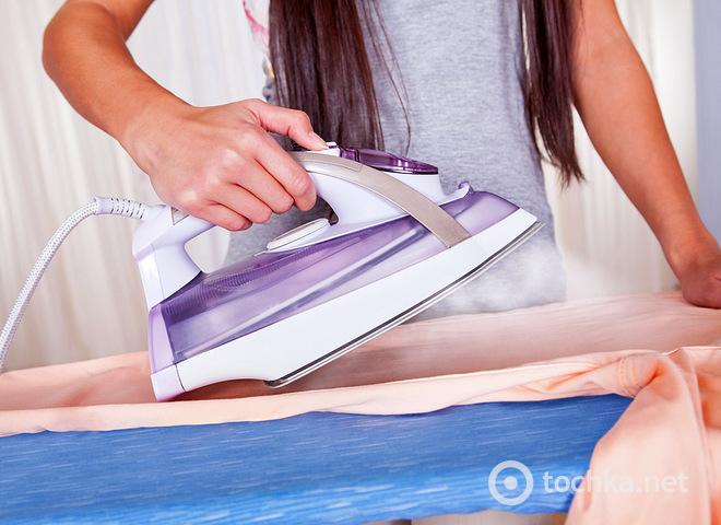 Як почистити праска без спеціальних засобів