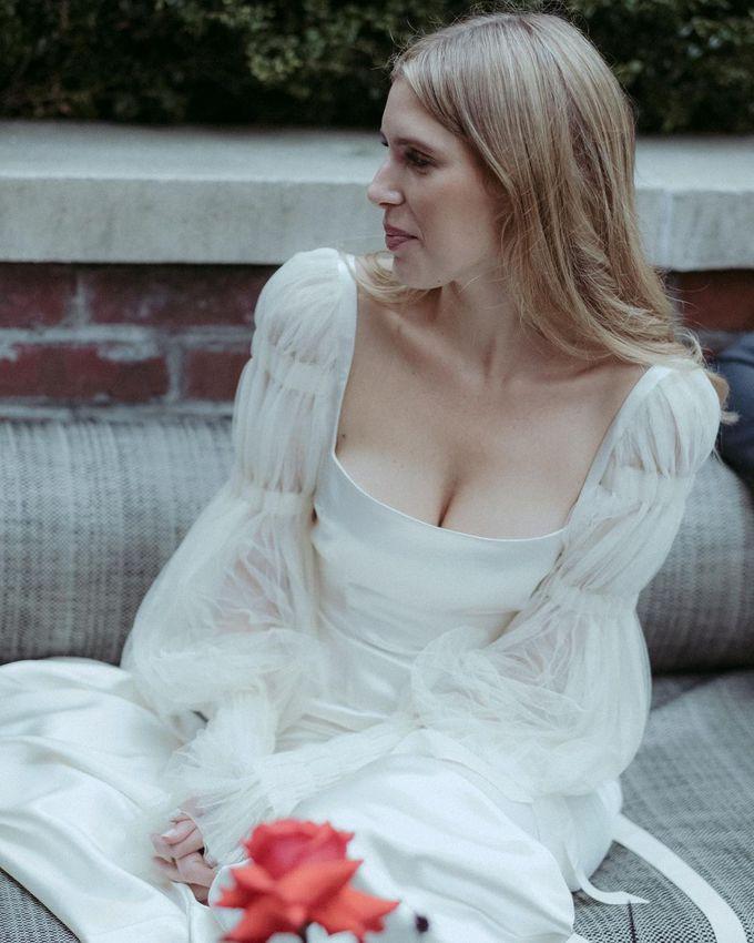 Модные легкие платья на свадьбу летом