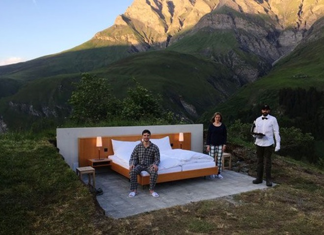 перший у світі open-air готель