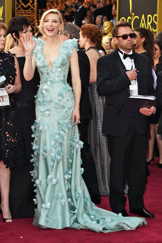Оскар 2016: Кейт Бланшетт на красной дорожке