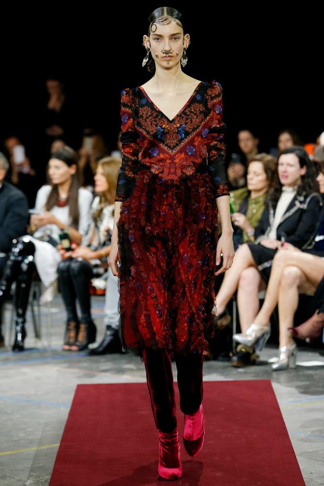 Givenchy осень 2015
