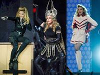 Наряды Мадонны на концерте