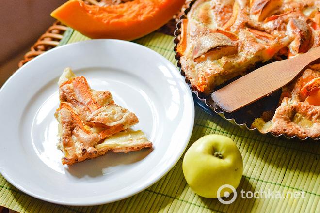 Рецепт пирога з гарбуза