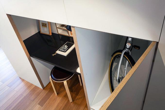 Маленькая квартира для путешествующих профессионалов
