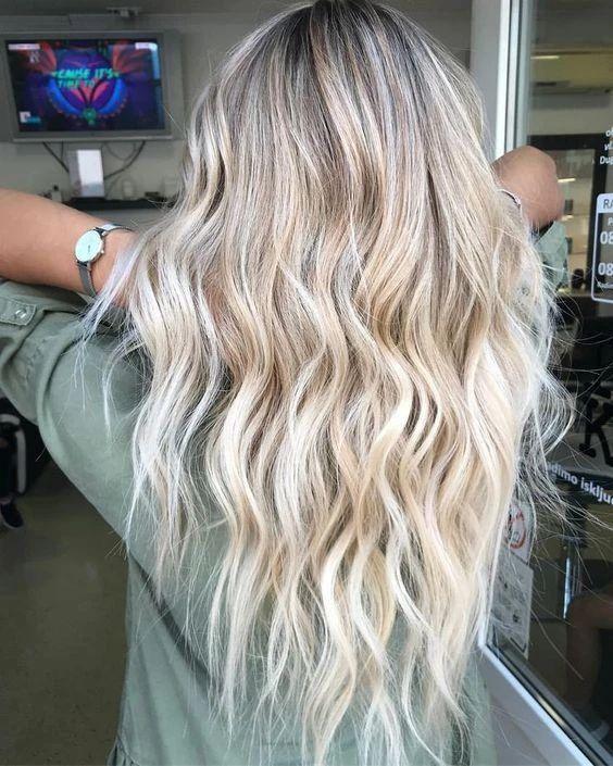 Окрашивание для блондинок
