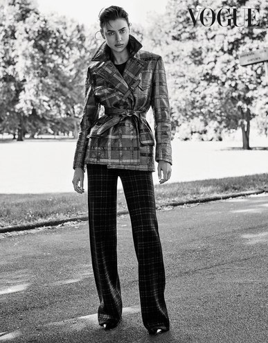 Ірина Шейк для Vogue Germany (серпень, 2016)