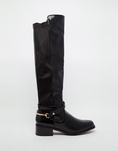 Зимові чоботи: ботфорти