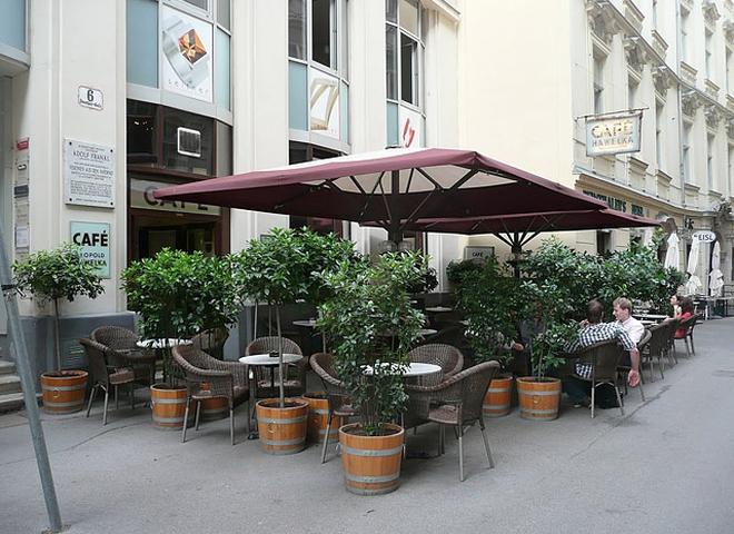 Кращі кафе Відня: Hawelka
