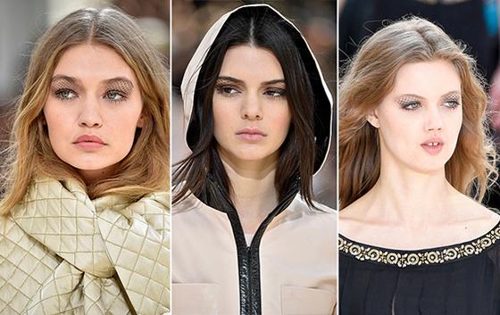 Модний макіяж очей від Chanel