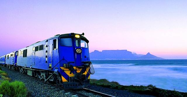 Найцікавіши тріпи на поїздах: «Блакитний експрес» від Кейптауна до Преторії