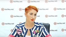Ірина Третьяк в гостях у tochka.net