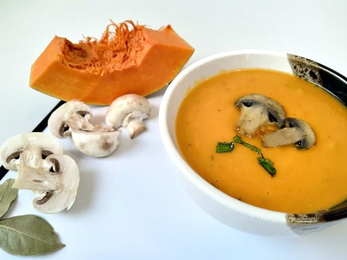 суп з грибів