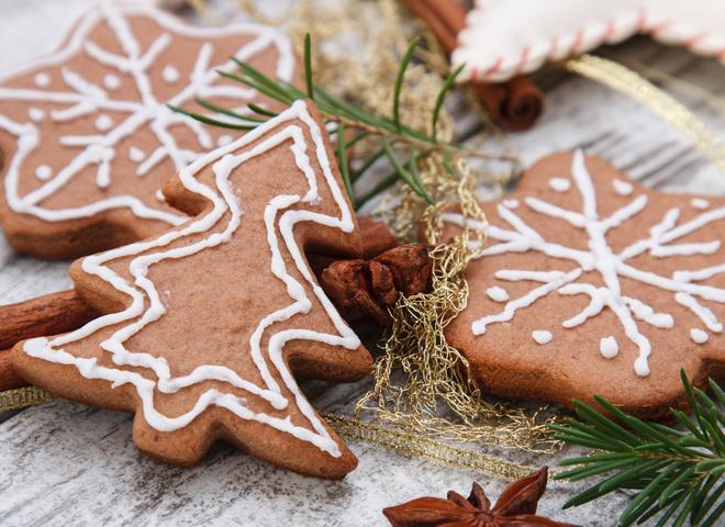 Имбирное печенье: рецепт на Новый год 2018 (фото)