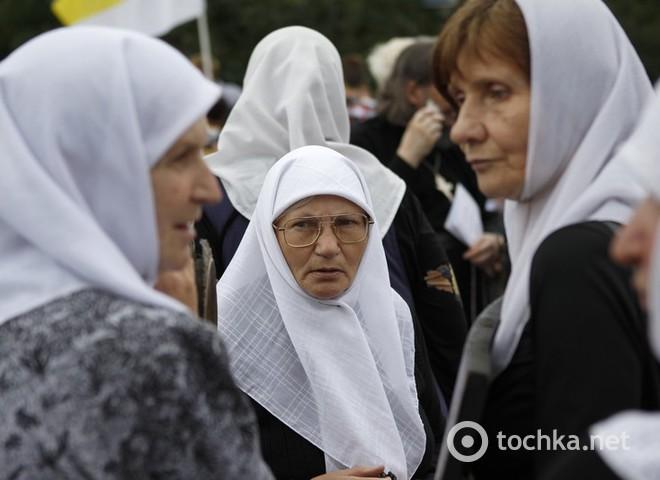 Митинг в защиту РПЦ