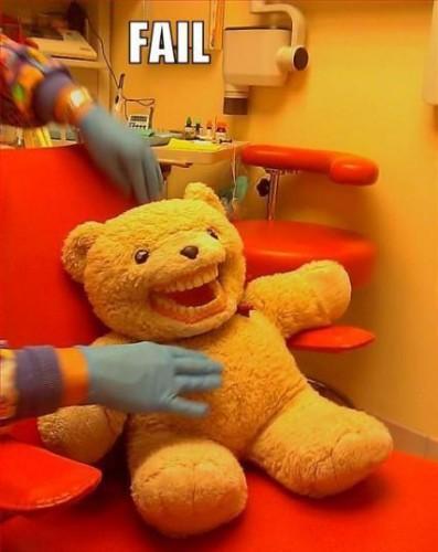 Стоматолог для мишки