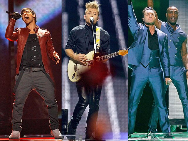Самые сексуальные геи «Евровидения 2011»