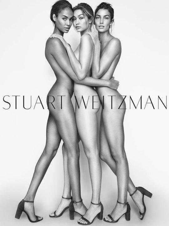Рекламна кампанія Stuart Weitzman